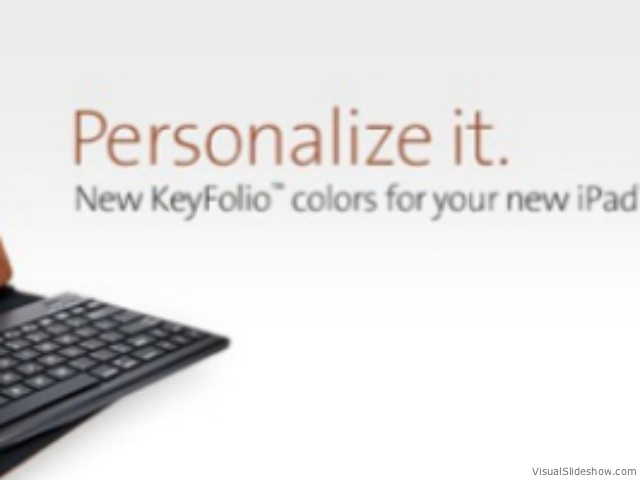 Keyfolio Removable keyboard for iPad